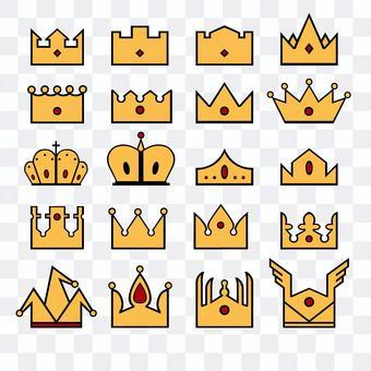 皇冠/皇冠圖標素材