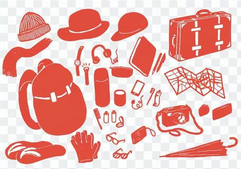 Travel Goods Red