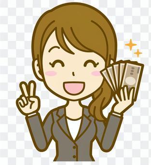 女(辦公室工作人員):C_ money 04 BS
