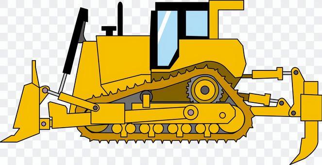 推土機鬆土機的重型建築設備