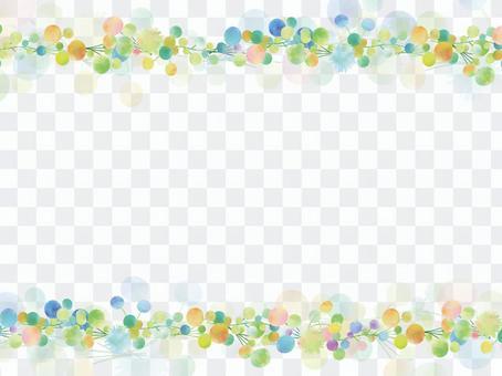 Spring color frame ver 03
