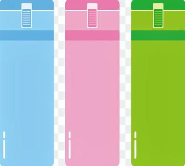 Illustration of water bottle