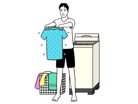 洗衣person_male
