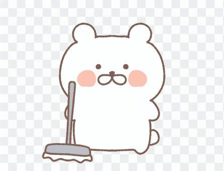 北極熊要清潔
