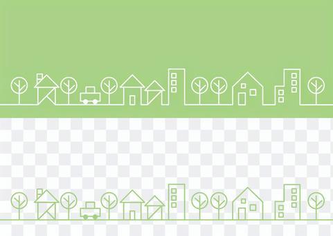 城市景观_绿色