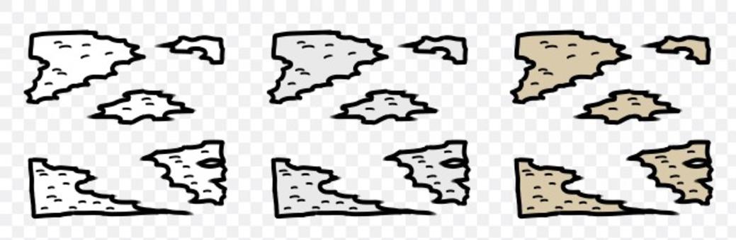 貼紙剝落痕跡