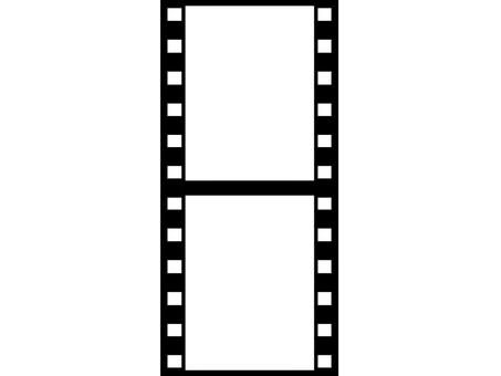 Negative fill vertical 2 frames