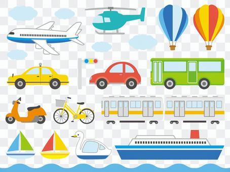 各種車輛設置
