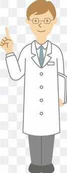 醫療關係004(男性醫生指點)