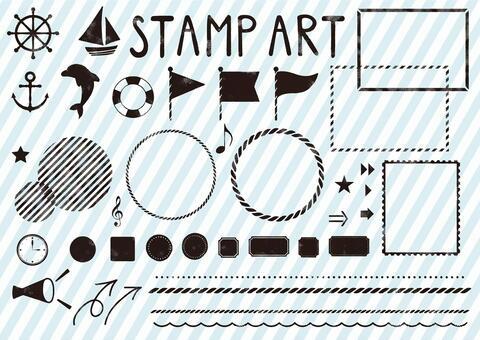郵票藝術2