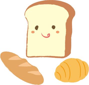 蓬松的面包