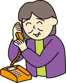 Fixed telephone use