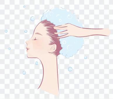 【透明PNG】以斯帖的【護髮】