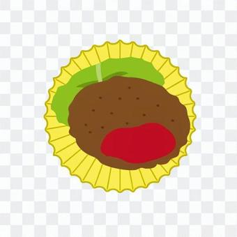 漢堡和白菜
