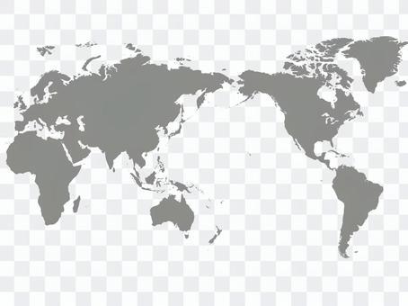 世界地圖輪廓_3