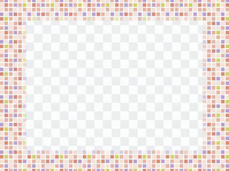 拼貼畫框像素畫004