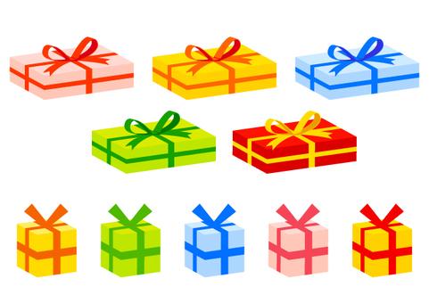 禮物箱子集合