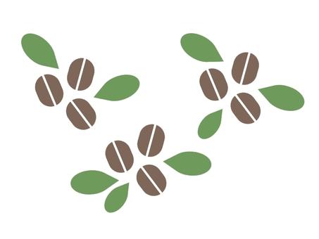 咖啡豆的插圖