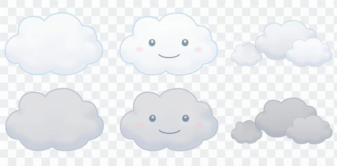 多雲(雲)集