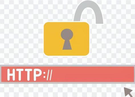 Illustration of not implementing Internet SSL