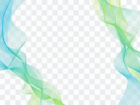 Summer pastel waveline background