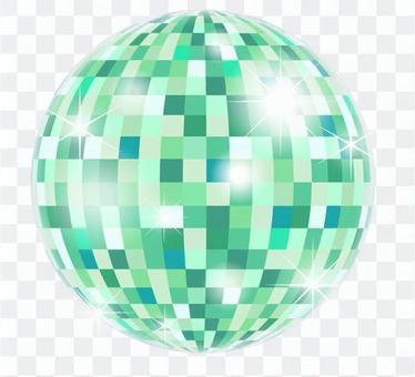 鏡子球_綠色