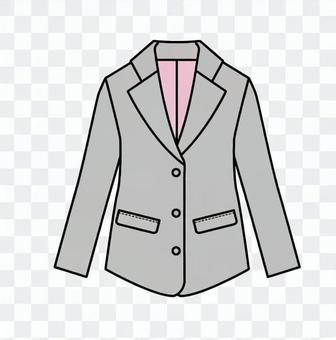 灰色外套(女)