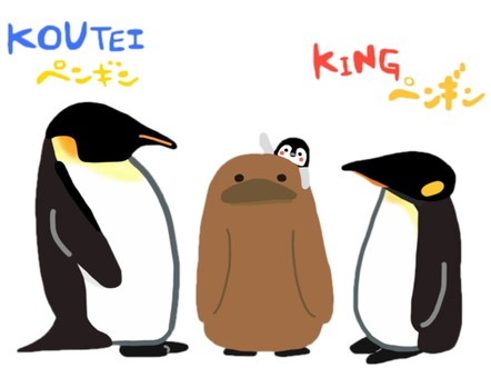 Emperor Penguin_King Penguin_Hina_Horizontal