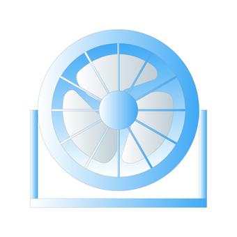 循環器(藍色)