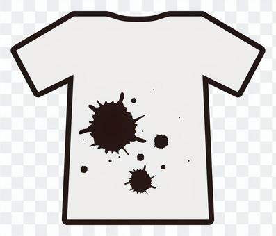 墨水髒襯衫
