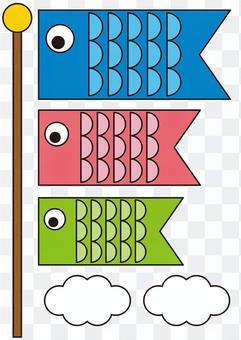 鯉魚旗工藝圖案顏色