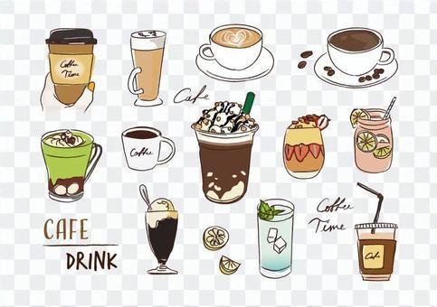 咖啡廳MENU飲品