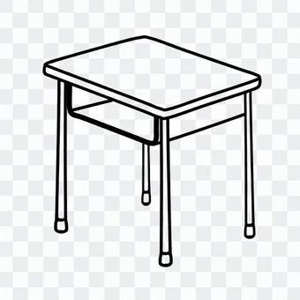 課桌(藝術線條)