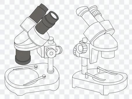 Binocular stereomicroscope 01
