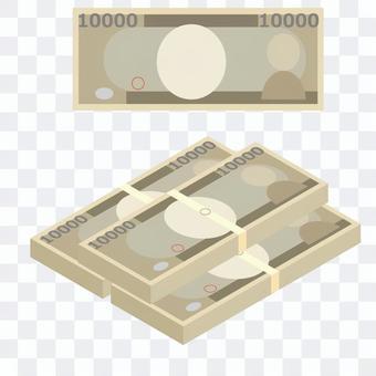 お金 お札 1万円