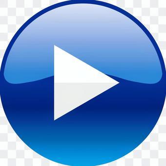 電影播放按鈕_ 02 _藍色