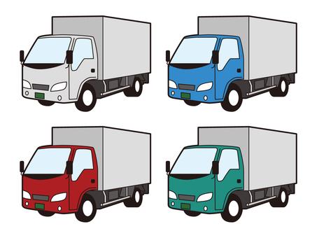 多彩的輕卡卡車