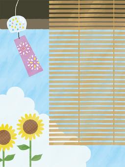 Summer porch background