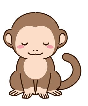 Bowing monkey