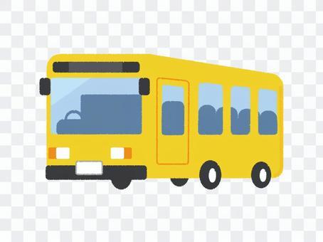 公共汽車車輛黃色