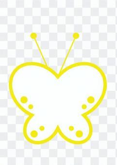 蝴蝶(黃色)