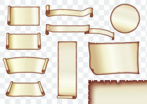 Old paper _ frame