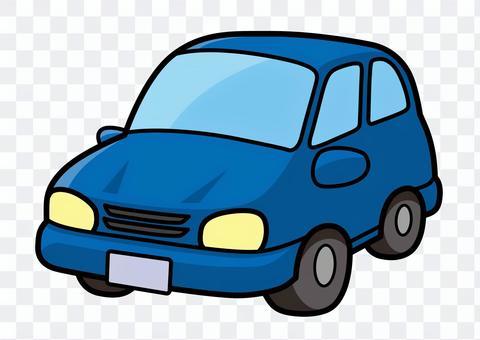 車2(藍色)插圖