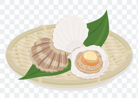 漏勺中的扇貝(2)