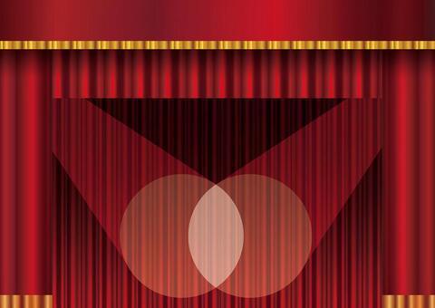 咖哩懸垂帷幕背景材料框架框架圖片