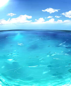 海(背景)③