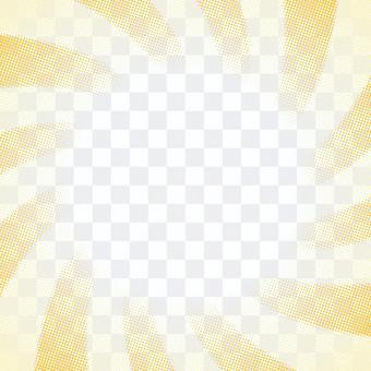 點漸變1,黃色