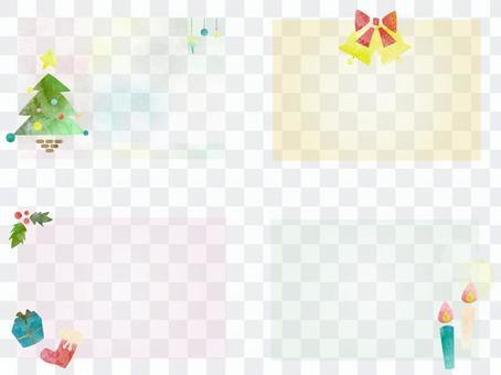 聖誕節框架集ver 01