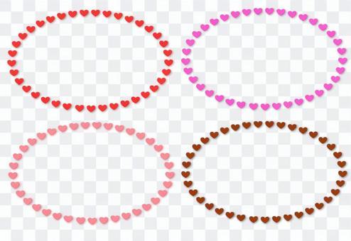 心臟標記框架集合