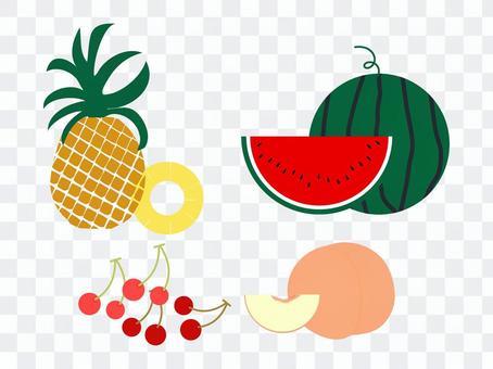 夏のフルーツ2